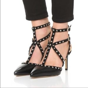 Sam Edelman Ocie studded heels 9.5
